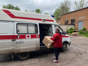 Выдача СИЗ медицинским учреждениям Ярославской области