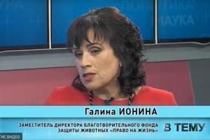 """Программа """"В тему"""" от 22.01.2020: Галина Ионина"""