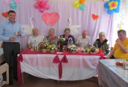 Тутаевское отделение ВОИ в клубе поселка Фоминское отметило День  семьи, любви и верности