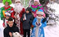 Умная собака вернула Деда Мороза детям