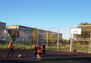 Зажглись новые «звезды» дворового футбола