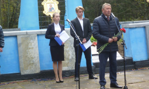 Члены Общественной палаты Большесельского муниципального района  приняли участие в памятном митинге,  посвященном Дню памяти жертв политических репрессий