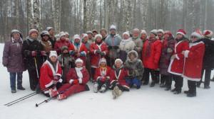 «День снега» собрал вместе пенсионеров и школьников