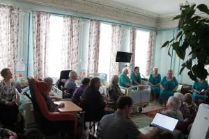 Вдохновение в Доме милосердия имени кузнеца Лобова в селе Поречье-Рыбное