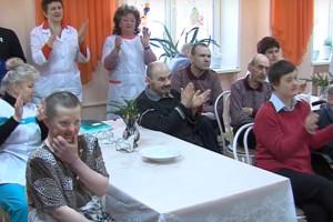 В Норском геронтопсихиатрическом центре отметили Старый Новый год