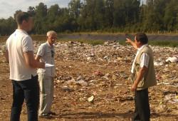 В Большесельском муниципальном районе проводился общественный мониторинг мест размещения твердых бытовых отходов.