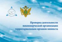 Проверка деятельности некоммерческой организации территориальным органом минюста
