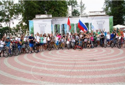 Велопробег по Молодогвардейски